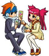 Satoru and Haruka