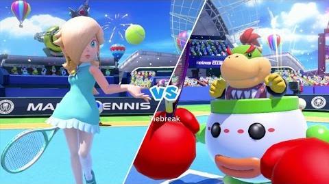 Mario Tennis Ultra Smash Walkthrough Part 5 - Knockout Challenge (Unlocking Star Rosalina)