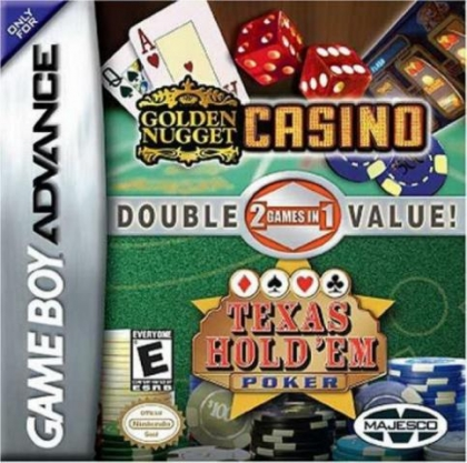 2 Games in 1 Golden Nugget Casino / Texas Hold 'Em Double