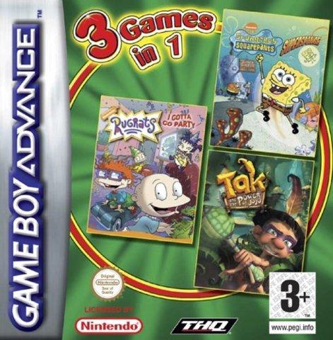 3 Games in 1: Tak / SuperSponge / Rugrats: I Gotta Go Party