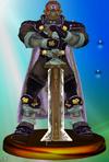 Ganondorf Trophy 2 (Smash).png