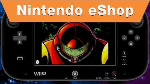 Metroid Zero Mission on the Wii U Virtual Console