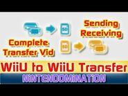 *Special* WiiU to WiiU File Transfer *FULL One Part version*