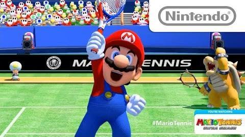 マリオテニス ウルトラスマッシュ Nintendo Treehouse Live @ E3 2015
