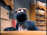 Cookie Monster baking cookies - 6