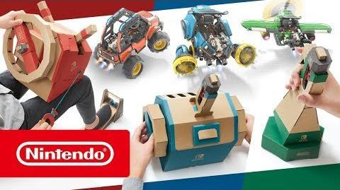 La Grey Zuliana/Nintendo desvela detalles del nuevo kit de vehículos de Nintendo Labo, disponible el 14 de septiembre