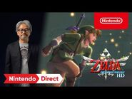 The Legend of Zelda- Skyward Sword HD – Announcement Trailer – Nintendo Switch