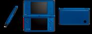 Blue Nintendo DSi XLs