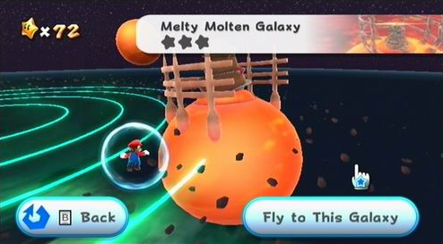 Melty Molten Galaxy