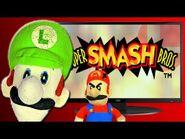 Super Smash Bros - Luigi Time!!!