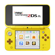 New Nintendo 2DS XL - Pikachu 02