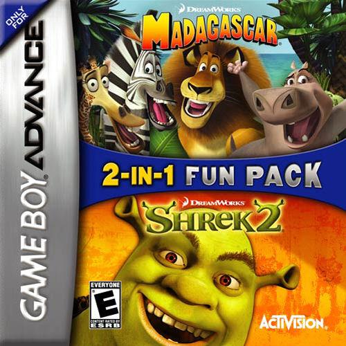 2-In-1 Fun Pack: Madagascar + Shrek 2
