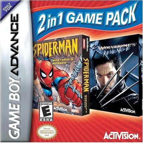 2 in 1 Game Pack: Spider-Man: Mysterio's Menace / X2: Wolverine's Revenge