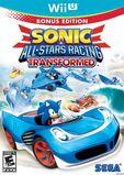 Sonic & All-Stars Racing Transformed (Wii U) (NA)