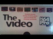 N64 Pro Magazine Issue 1 VHS