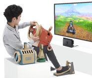 Nintendo Labo - Vehicle Kit - Artwork 03