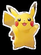 Pokémon Let's Go, Pikachu! and Let's Go, Eevee! - Character Artwork - Pikachu 05