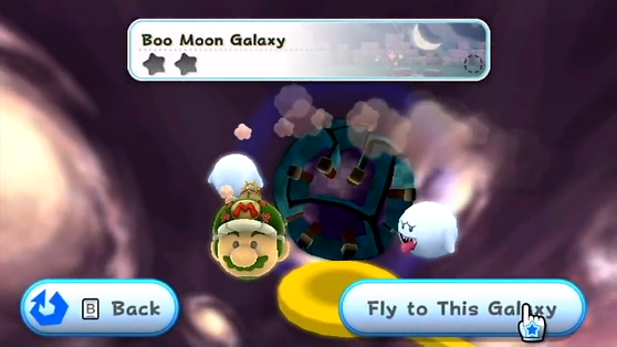 Boo Moon Galaxy