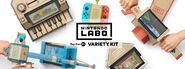 Nintendo Labo - Variety Kit banner (center logo)