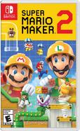 Super Mario Maker 2 box art (NA)