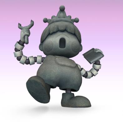 Porky Statue