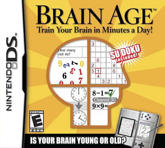 Brain Age: Train Your Brain in Minutes a Day!
