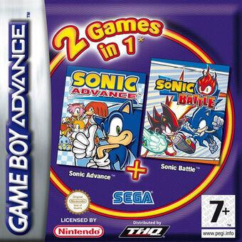2 Games in 1: Sonic Advance + Sonic Battle