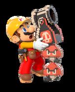 Super Mario Maker 2 - Mario & Luigi artwork 2 - Mario