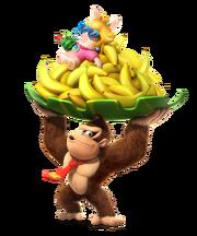 Mario + Rabbids Kingdom Battle - Donkey Kong artwork.png