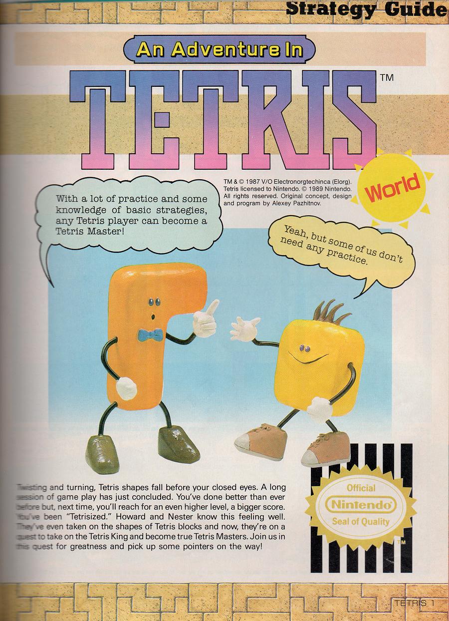 An Adventure in Tetris World