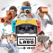Nintendo Labo - VR Kit - Artwork 02