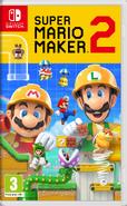 Super Mario Maker 2 box art (UK)