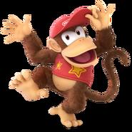 Super Smash Bros. Ultimate - Character Art - Diddy Kong