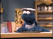 Cookie Monster baking cookies - 8