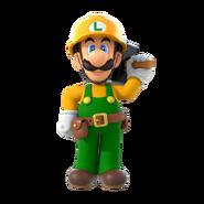 Super Mario Maker 2 - Luigi artwork