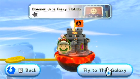 Bowser Jr.'s Fiery Flotilla
