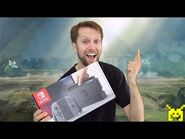 Nintendo Switch unboxing, setup & system config video