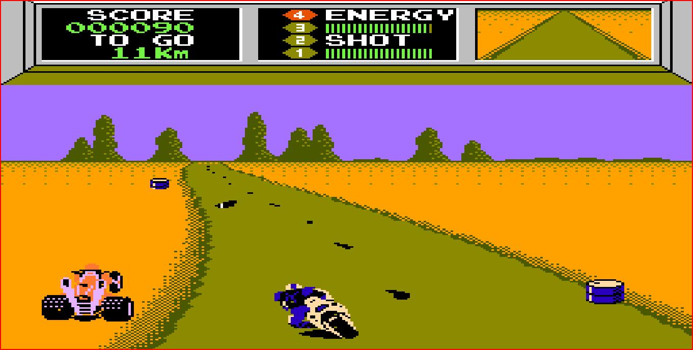Mach Rider (video game)