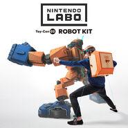 Nintendo Labo - Illustration - Robot Kit 03