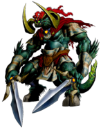 The Legend of Zelda Ocarina of Time - Beast Ganon