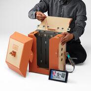 Nintendo Labo - Robot Kit - Back