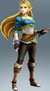 Hyrule Warriors: Definitive Edition, Zelda's Breath of the Wild costume.