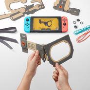 Nintendo Labo - Robot Kit - Constructing