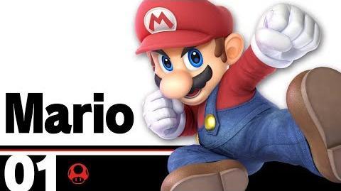 01- Mario – Super Smash Bros. Ultimate