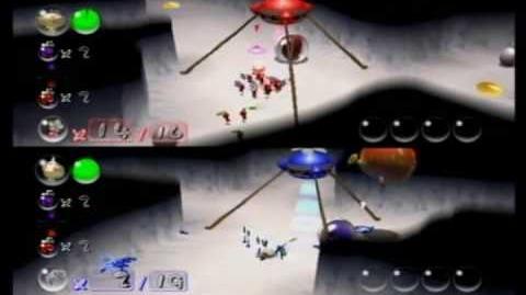 2-Player Battle (Pikmin)