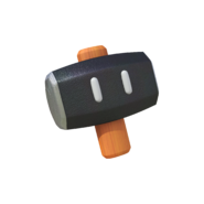 Super Mario Maker 2 - Hammer powerup artwork