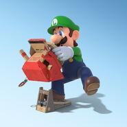 Nintendo Labo × Mario Kart 8 Deluxe (Luigi)