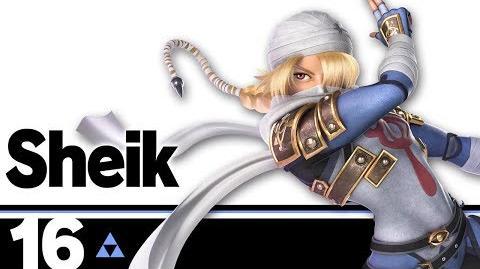 16- Sheik – Super Smash Bros. Ultimate
