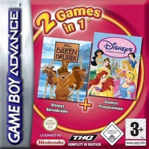 2 Games In 1: Disney's Brother Bear / Disney Princess