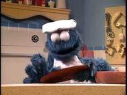 Cookie Monster baking cookies - 5